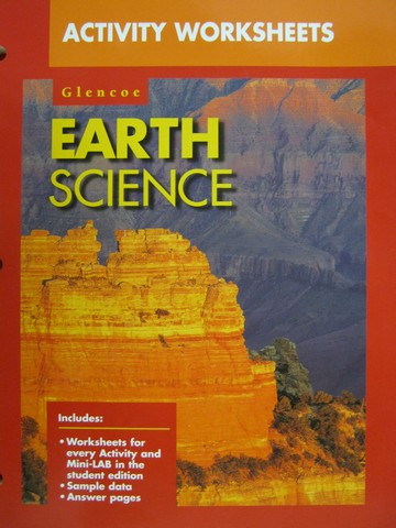 Worksheets Glencoe Earth Science Worksheets glencoe earth science worksheets for school kaessey activity p 0028271858