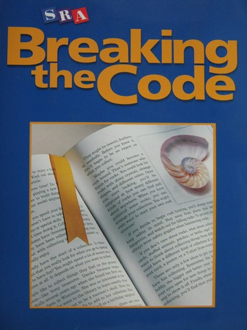 SRA Breaking the Code (P) by Jerome D Lebo