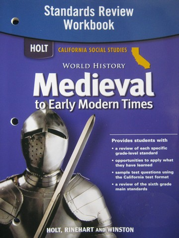 Medieval to Early Modern Times Standards Review Workbook (CA)(P)