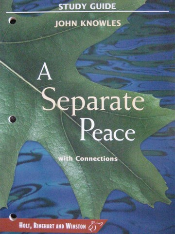 Study Guide A Separate Peace with Connections (P)