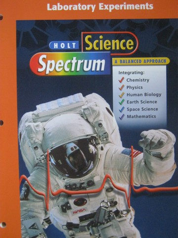 Science Spectrum A Balanced Approach Laboratory Experiments (P)