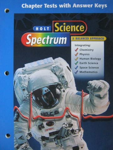 Science Spectrum A Balanced Approach Chapter Tests (P)