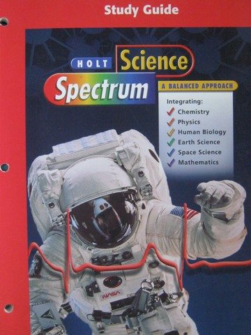 Science Spectrum A Balanced Approach Study Guide (P)