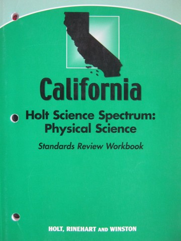 Science Spectrum Physical Science Standards Review (CA)(P)