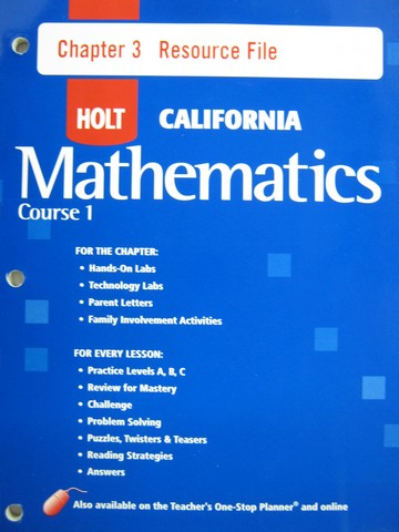 Holt mathematics online homework help