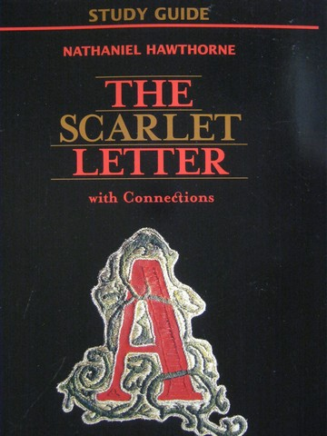 Study Guide The Scarlet Letter with Connections (P) by Evler