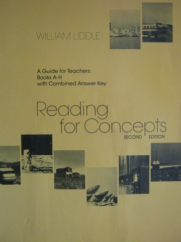 Reading for Concepts A-H 2nd Edition TG (TE)(P) by Liddle