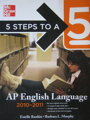 5 Steps to A 5 AP English Language 2010-2011 (P) by Rankin,