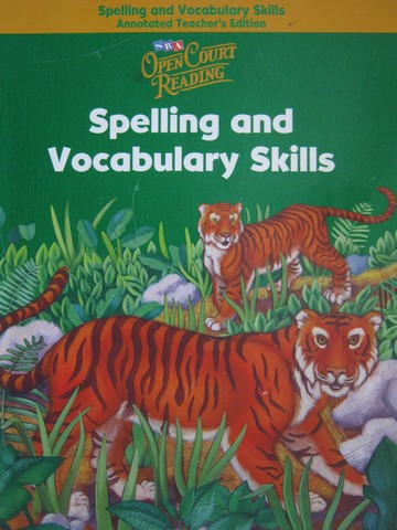 SRA Open Court Reading 2 Spelling & Vocabulary Skills ATE (TE)(P