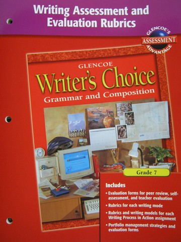 Writer's Choice 7 Writing Assessment & Evaluation Rubrics (P)