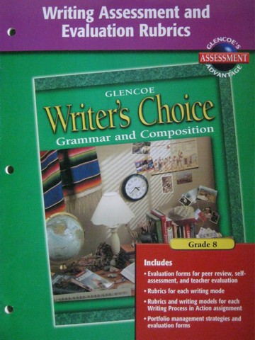 Writer's Choice 8 Writing Assessment & Evaluation Rubrics (P)
