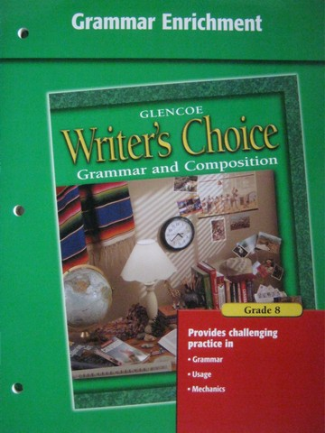 Writer's Choice 8 Grammar Enrichment (P)