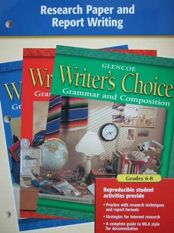 Writer's Choice Grades 6-8 Research Paper & Report Writing (P)