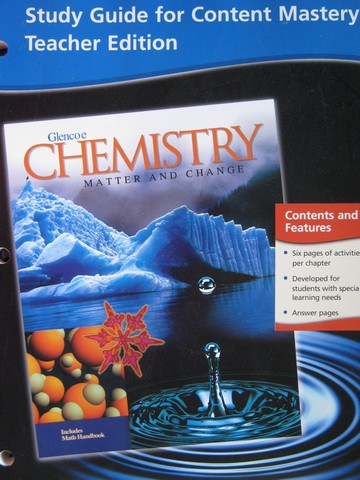 glencoe science chemistry matter and change textbook pdf