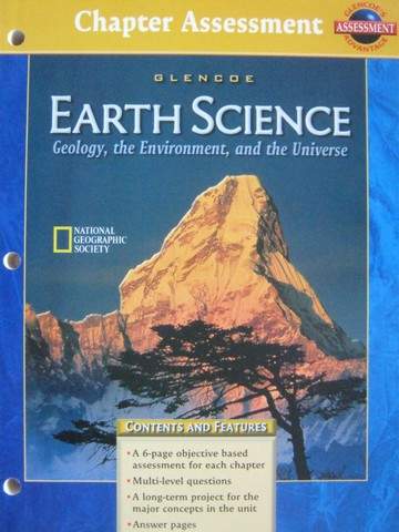 Earth Science Chapter Assessment (P)