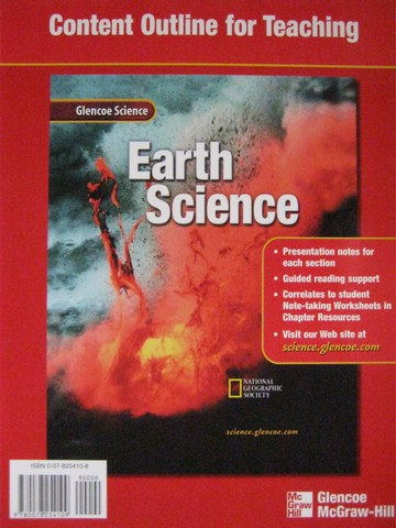glencoe earth science chapter resources 4 rocks p 0078269350 k 12 quality used. Black Bedroom Furniture Sets. Home Design Ideas