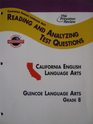 Reading & Analyzing Test Questions 8 (CA)(P)