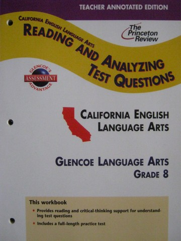 Reading & Analyzing Test Questions 8 TAE (CA)(TE)(P)