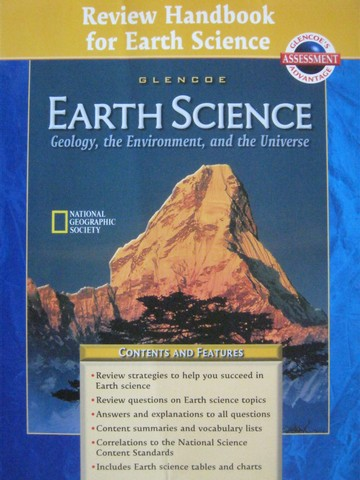 Earth Science Review Handbook for Earth Science (P)