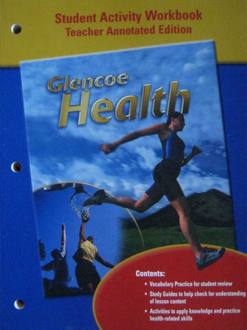 Glencoe Health Student Activity Workbook TAE (TE)(P)