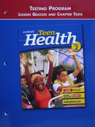 Glencoe health book chapter 9