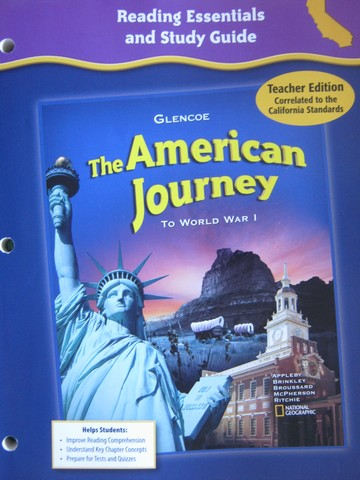 American Journey Reading Essentials & Study Guide TE (CA)(TE)(P)