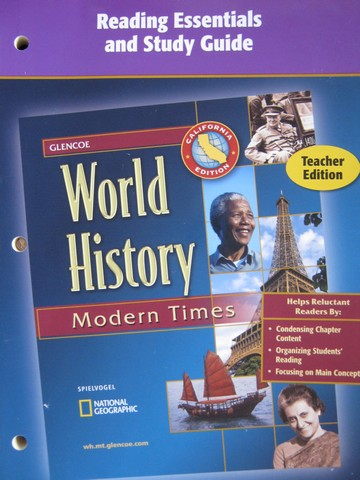Glencoe World History Modern Times Reading Essentials TE (CA)(P)