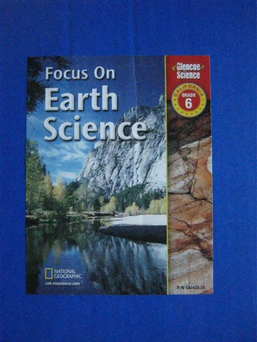 Focus on Earth Science TCR (CA)(TE)(Pk)