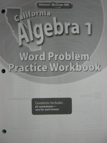 Homework practice workbook algebra 1 answer key