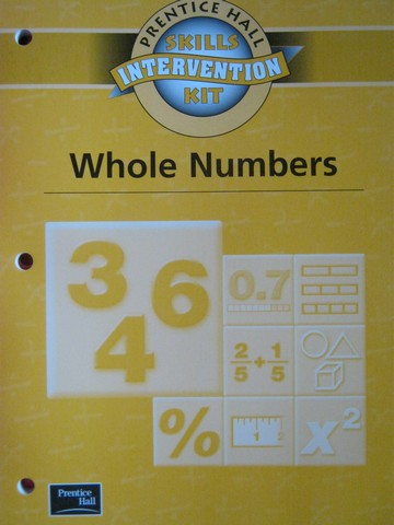 Skills Intervention Kit Whole Numbers (P) by Randall I Charles