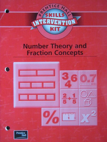 Skills Intervention Kit Number Theory & Fraction Concepts (P)