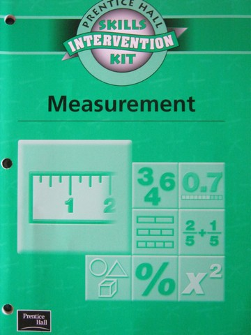 Skills Intervention Kit Measurement (P) by Randall I Charles