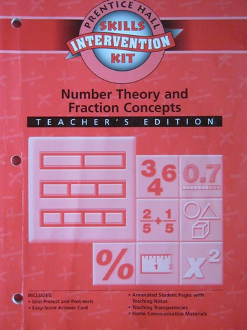 Skills Intervention Kit Number Theory & Fraction Concept (TE)(P)
