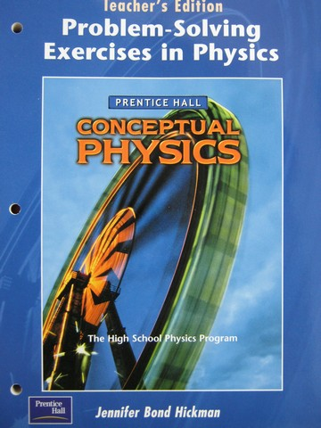 Conceptual Physics Problem-Solving Exercise in Physics TE (P)