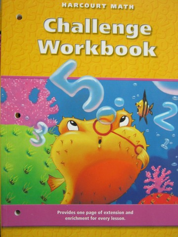 Harcourt Math 2 Challenge Workbook (P)