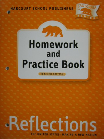 Reflections 5 Homework & Practice Book TE (CA)(TE)(P)