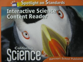 California Science 3 Interactive Science Content Reader (CA)(P)