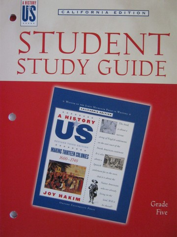 A History of US 3e 5 Making 13 Colonies Study Guide (CA)(P)