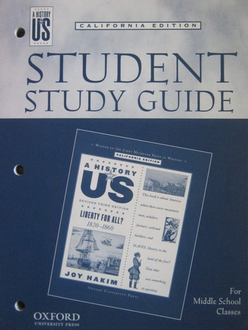 A History of US Revised 3e Liberty for All? Study Guide (CA)(P)