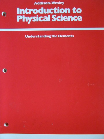 Introduction to Physical Science Understanding the Elements (P)