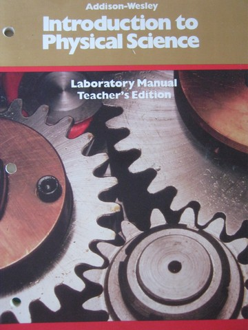 Introduction to Physical Science Laboratory Manual TE (TE)(P)