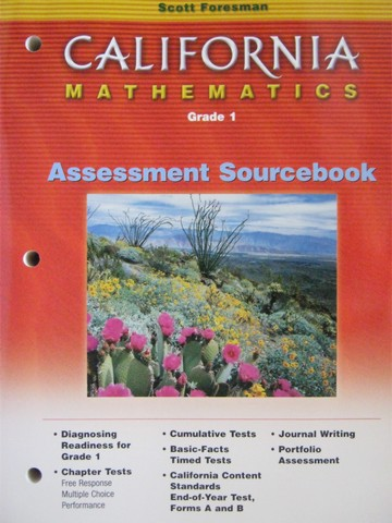 California Mathematics 1 Assessment Sourcebook (CA)(P)