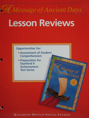 A Message of Ancient Days 6 21st Century Lesson Reviews (P)