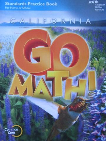 California Go Math! 4 Common Core Standards Practice Book ...