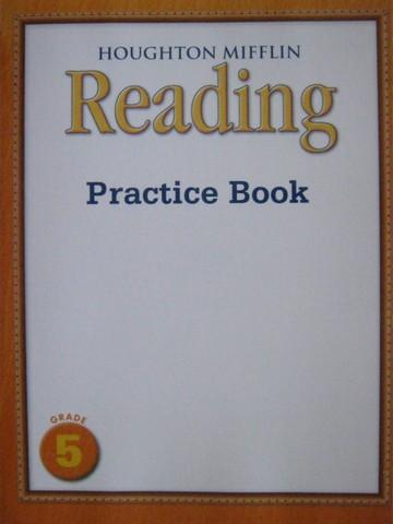 POST Houghton Mifflin Reading Grade 5 Practice Book P