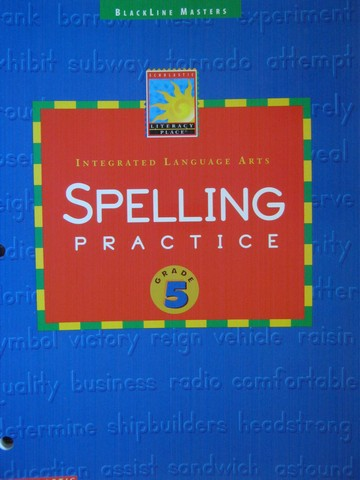 Literacy Place 5 Spelling Practice BLM (P)