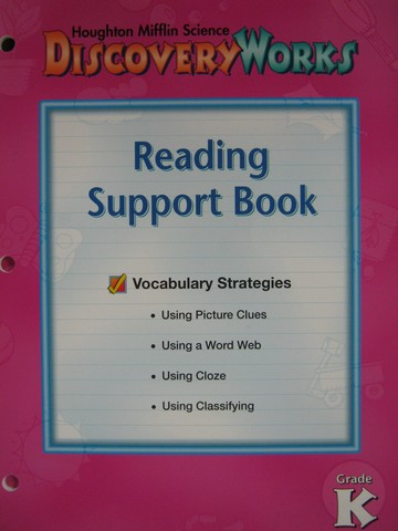 DiscoveryWorks K Reading Support Book (P)