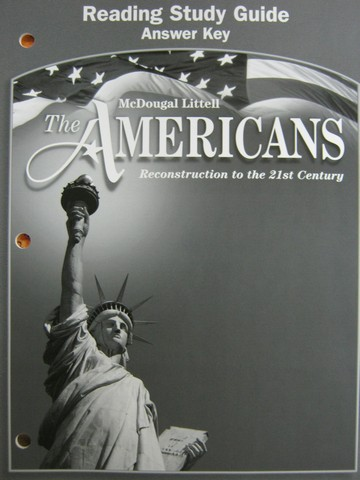 Americans Reading Study Guide Answer Key (P)