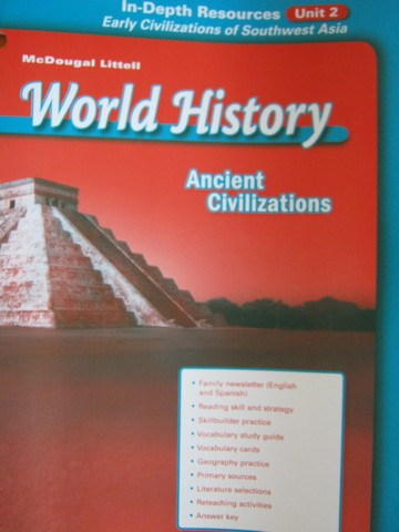 Ancient Civilizations In-Depth Resources Unit 2 (P)