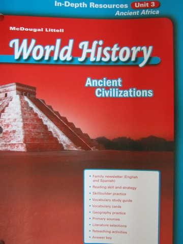 Ancient Civilizations In-Depth Resources Unit 3 (P)